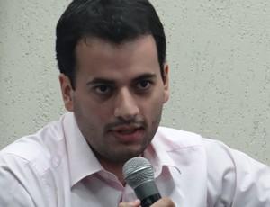 Helenildo Ribeiro Neto, presidente do CSE (Foto: Denison Roma / Globoesporte.com)