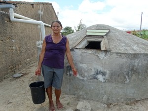Josefa Florêncio da Rocha, agricultora (Foto: Paula Cavalcante/ G1)
