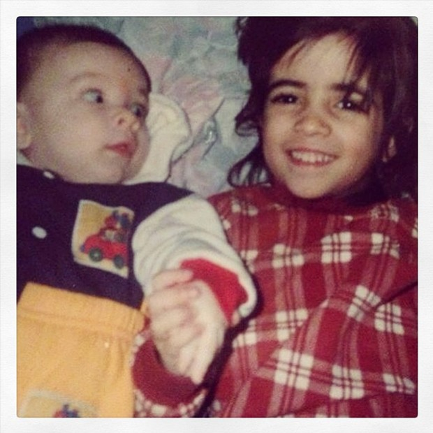 Os irmãos Laura Lobo e Ghilherme Lobo (Foto: Arquivo pessoal)