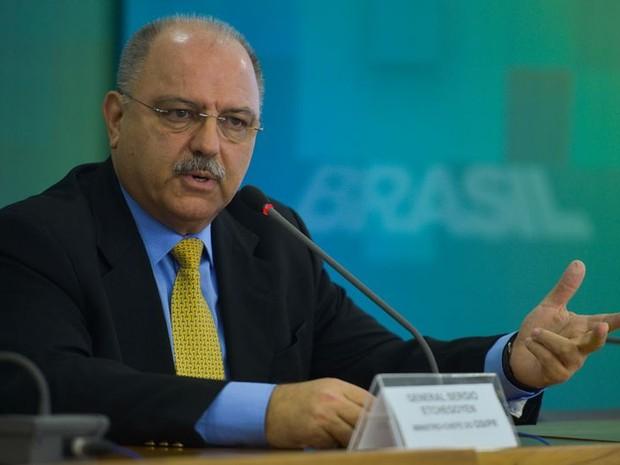 ministro do Gabinete de Segurança Institucional (GSI), Sérgio Etchegoyen, fala após ataque na França (Foto: José Cruz/Agência Brasil)