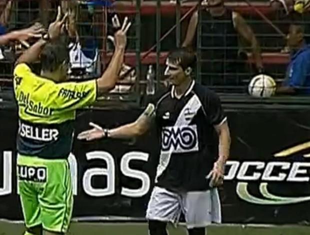 FRAME - Vasco x Volta Redonda Pedrinho (Foto: Reprodução SporTV)