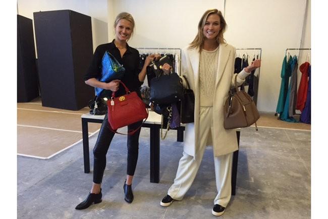 Toni Garrn e Karlie Kloss farão segunda edição do Supermodel Flea Market (Foto: Reprodução)