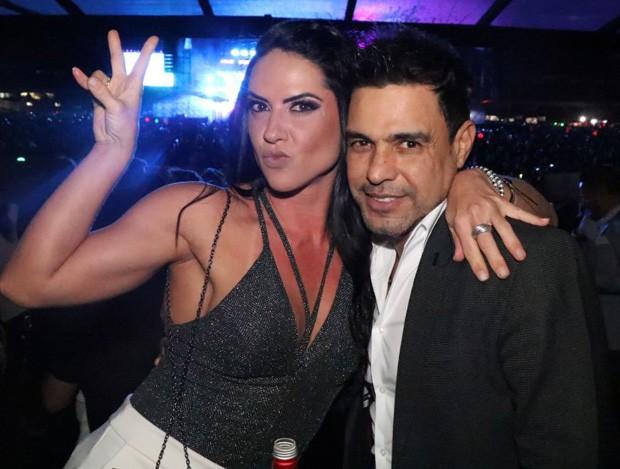 Zezé Di Camargo e Graciele Lacerda (Foto: Fred Pontes)