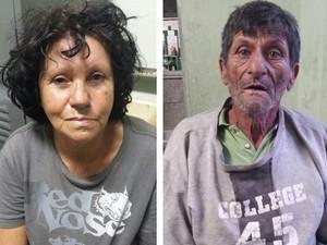 Suspeitos de matar homem em Raposos, na Grande BH.  (Foto: Polícia Civil/Divulgação)