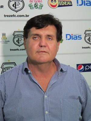 Ivandro Cunha Lima Filho, diretor de futebol do Treze (Foto: Divulgação / Treze)