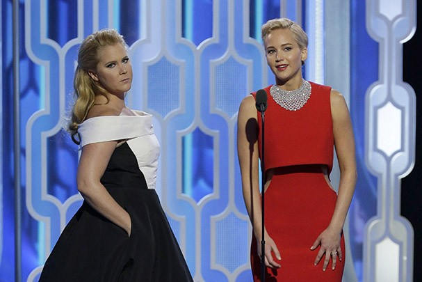 Amy Schumer e Jennifer Lawrence (Foto: Getty Images)