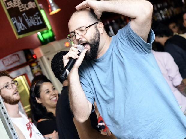 Poesia de Daniel Minchoni virou hit nos saraus  (Foto: Márcio Salata)