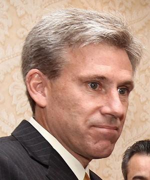 O diplomata americano J. Christopher Stevens em 7 de junho (Foto: AFP)