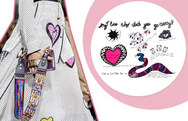 Dior e Niki de St Phalle (Foto: Reprodução, Antonio Barros e FashionToMax)