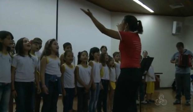 Projetos de boas práticas são compartilhados no evento. (Foto: Bom Dia Amazônia)
