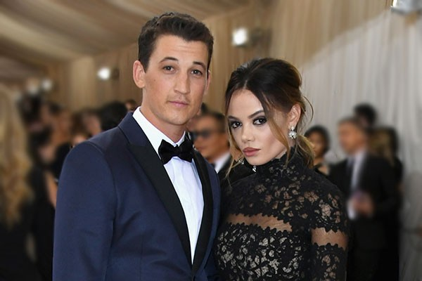 Miles Teller e Keleigh Sperry (Foto: Getty Images)
