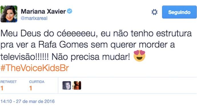 Mariana Xavier (Foto: Reprodução Internet)