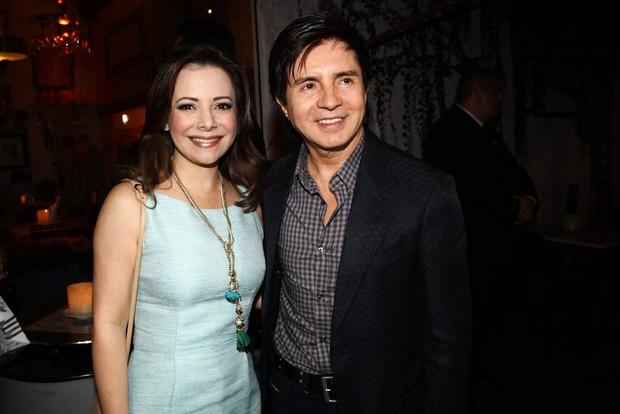 Noely e Xororó no aniversário de Sandy (Foto: Manuela Scarpa / Foto Rio News)