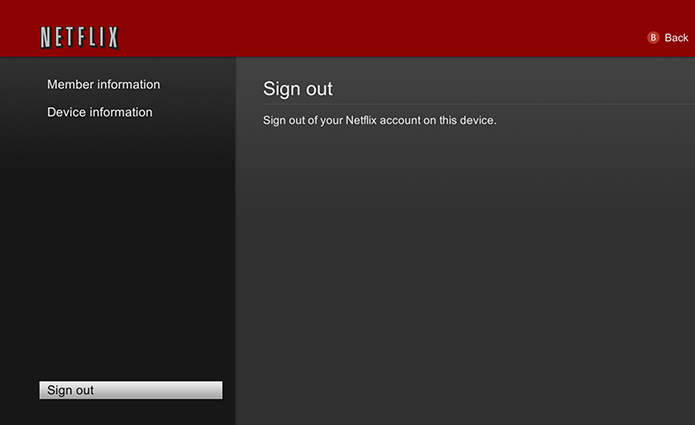 Saindo do Netflix no Xbox (Foto: Divulgação/Microsoft)