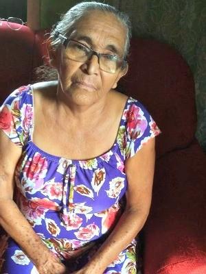 Luzia da Cunha, de 69 anos, procura parentes que vivem em Manaus (Foto: James da Cunha/Arquivo pessoal)