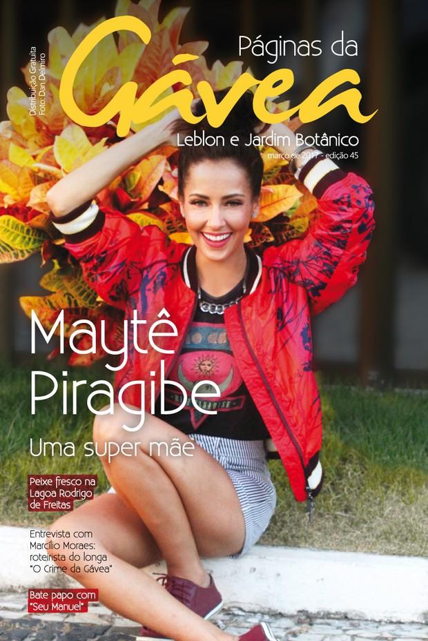 Maytê Piragibe (Foto: Divulgação/Paginas da Gavea)
