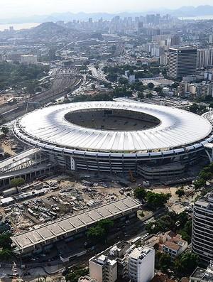 Maracanã estádio obras Copa 2014 (Foto: AFP)
