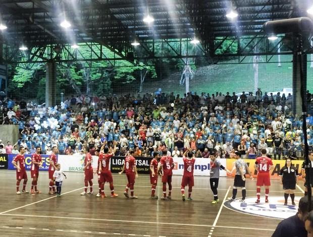 Sorocaba Blumenau Liga Futsal (Foto: Divulgação)