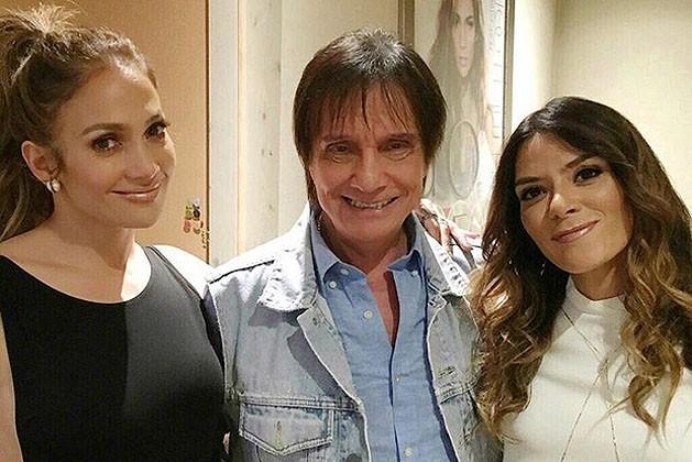 Jennifer Lopez, Roberto Carlos e Kany García (Foto: Reprodução Instagram)