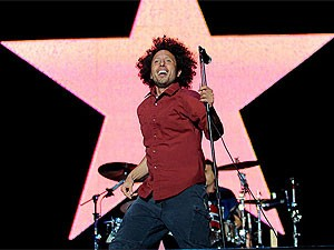 Rage Against The Machine se apresenta no palco Ar do festival SWU (Foto: Flavio Moraes/G1)