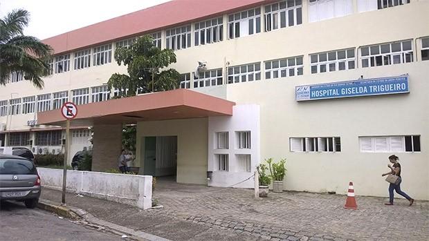 Hospital Giselda Trigueiro, em Natal (Foto: Eduardo Rodrigues/Inter TV Cabugi)