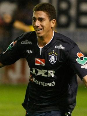 Zé Antônio, zagueiro do Remo, marcou o gol do empate contra o Paysandu (Foto: Marcelo Seabra/O Liberal)