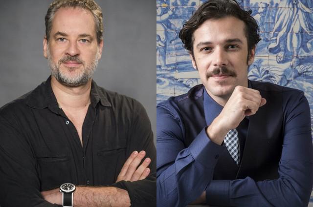 Dan Stulbach e Jayme Matarazzo (Foto: TV Globo)
