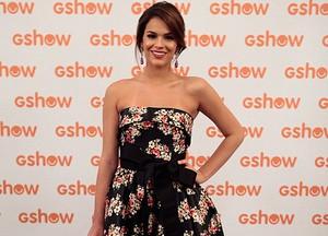 Bruna Marquezine escolheu um vestido de grife (Foto: Pedro Curi / TV Globo)