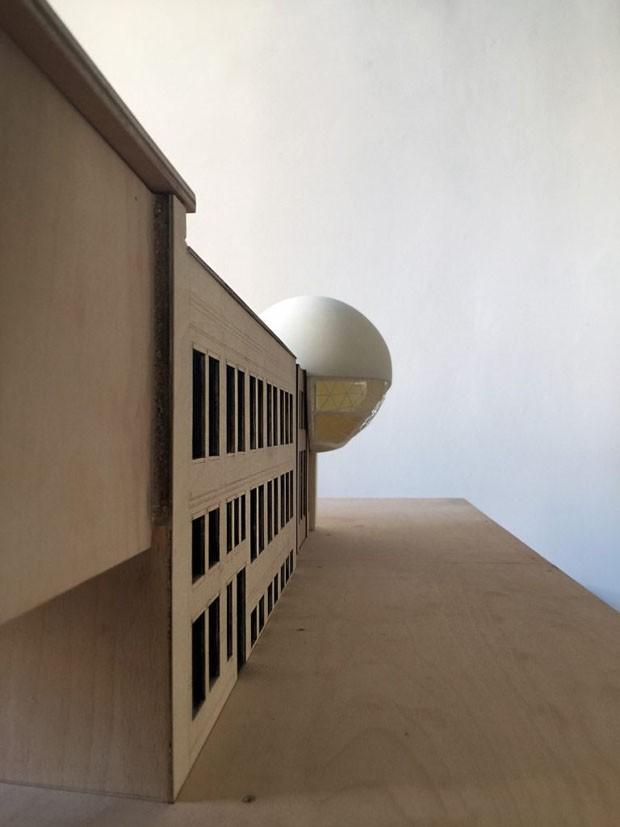Um dos últimos projetos de Oscar Niemeyer será erguido na Alemanha (Foto: Divulgação)