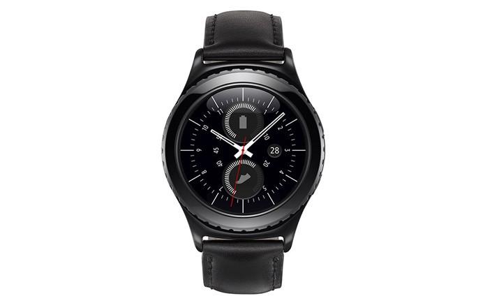 O Gear S2 Classic terá pulseira de couro (Divulgação/Samsung)