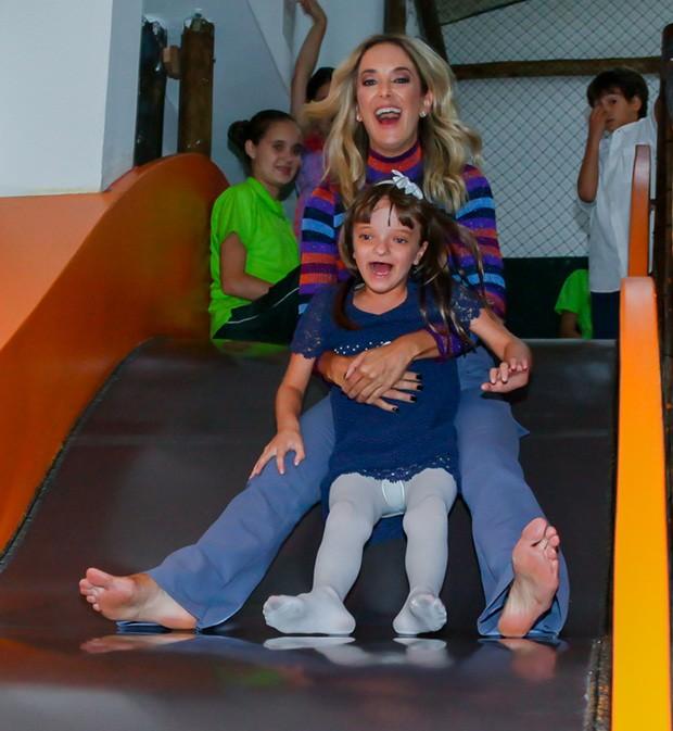 Ticiane Pinheiro com a filha, Rafaella Justus (Foto: Manuela Scarpa/Brazil News)