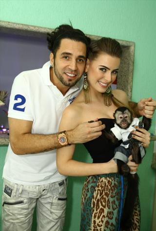 Rayanne Morais e Latino (Foto: João Ricardo / R2 / Divulgação)