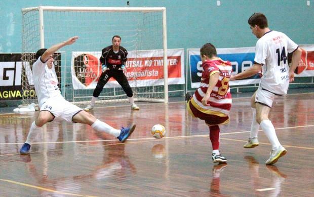 AABB Orlândia Liga Paulista Futsal (Foto: Márcio Damião/Divulgação)