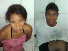 Polícia Militar prende em Maceió, AL, casal suspeito de roubar motocicleta
