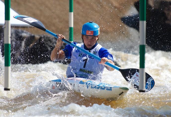 Jiri Prskavec, mundial, canoagem (Foto: Thales Soares)