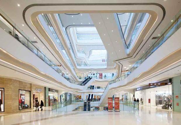Shopping center ; centro de compras ; consumo ; varejo ;  (Foto: Reprodução/Facebook)