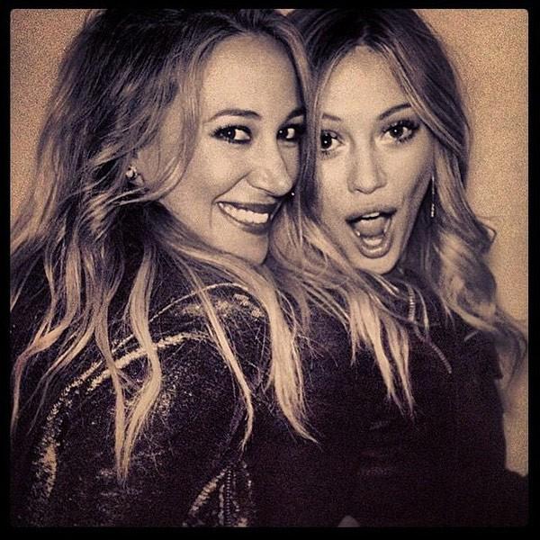 Haylie e Hillary Duff (Foto: Instagram)