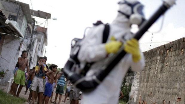 Agente faz prevenção a mosquito; mais de 3 mil casos de microcefalia estão sendo investigados  (Foto: Reuters)