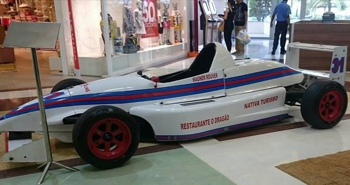 Carro da Fórmula 1.6 pilotado por Wagner Rouver (Foto: Divulgação)