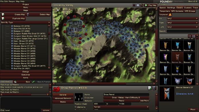 Crie suas próprias aventuras no melhor estilo D&D com o sistema Foundry (Foto: Reprodução / Incgamers)