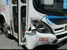 Acidente entre ônibus e carro com turistas deixa feridos em João Pessoa