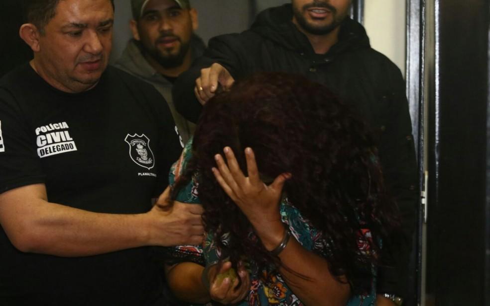Mulher é presa em Planaltina (GO) suspeita de sequestrar bebê no DF (Foto: Divulgação/Polícia Civil)