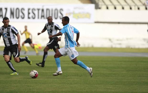 Alex Gaibu, meio-campo do Paysandu, enfrentou seu ex-clube (Foto: Tarso Sarraf / O Liberal)