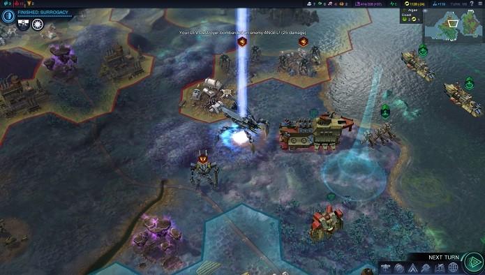 O jogo apresenta uma boa variedade de unidades (Foto: Reprodução)