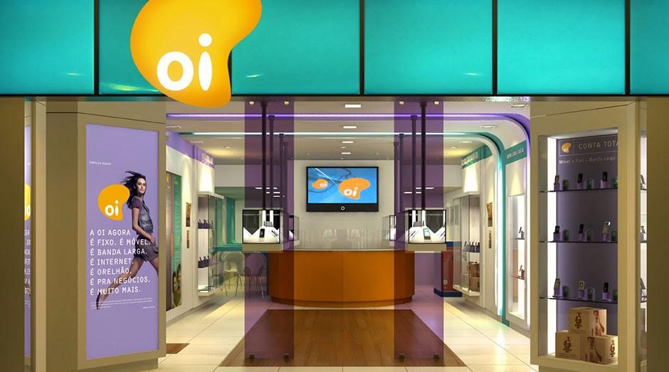Oi, loja, celular, telefonia, empresa (Foto: Reprodução)