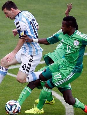 Musa segundo gol Argentina x Nigeria (Foto: Reuters)