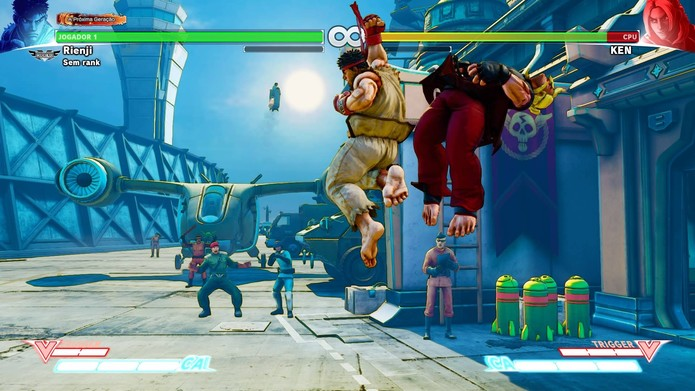 Shoryuken pode surpreender em Street Fighter 5 (Foto: Reprodução/Felipe Vinha)