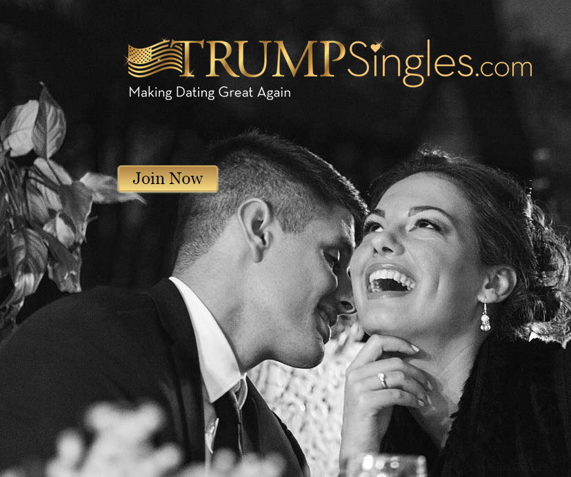 Site TrumpSingles.com, que marca encontros entre apoiadores de Donald Trump (Foto: Reprodução)