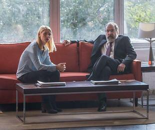 Carrie Mathison (Claire Danes) e Saul (Mandy Patinkin) em 'Homeland' | Divulgação