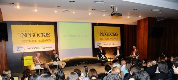 Insights com Época NEGÓCIOS discutiu a gestão de talentos (Foto: Sylvia Gosztonyi)
